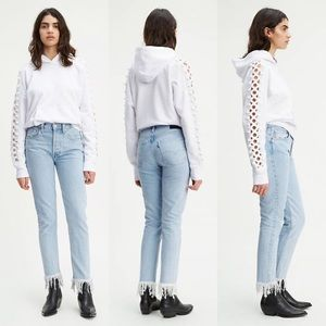 LEVI'S Made & Crafted 501 High Rise Skinny Jeans